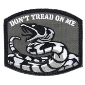 Condor Embroidered Don't Tread On Me Patch