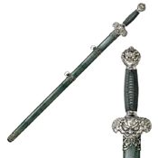 Cold Steel Jade Lion Gim Sword