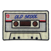 3.5x2.25 Inch Old Skool Radio Cassette Patch