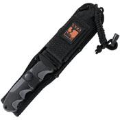 CRKT Kommer Free Range Gut Hook Fixed Blade Knife