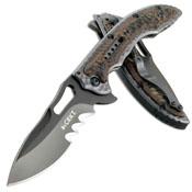 CRKT Ikoma Fossil Folding Knife
