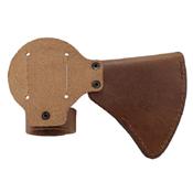 CRKT Woods Nobo T-Hawk Leather Sheath - Brown