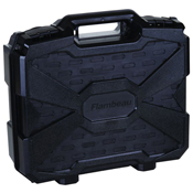 Flambeau Double Deep Pistol Case - Black