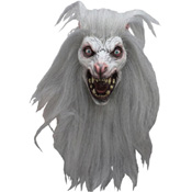 Evil Moon Werewolf Halloween Mask