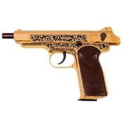 Gletcher Stechkin Gold .177 Caliber BB Pistol