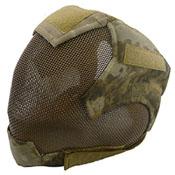 V6 Strike Military War Safety Face Mesh Airsoft Mask