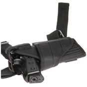 Black Drop Tornado Left Leg Holster