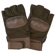 Fingerless Hard Knuckle Tactical Gloves