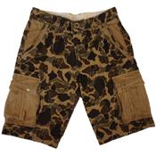 Cotton Camo Cargo Shorts