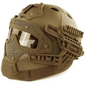 Tactical Full-Face PJ Style Helmet