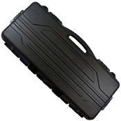 Hard Plastic Single Rifle Case Black