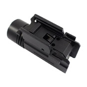 Small 60 Lumen Tactical Flashlight with Mount