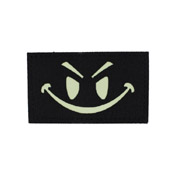 Glow in the Dark Smile Face Patch