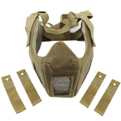 Airsoft Half Face Mask