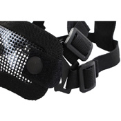 Double Band Half-Face Airsoft Mask