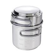 Esbit 985ml Stainless Steel Cookset With Alcohol Burner