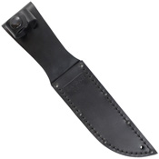 Ka-Bar Short Black Kraton G Handle Fixed Blade Knife