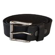 Keldon Pebbled Leather Belt w. Removable Buckle