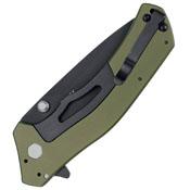 Knockout Sandvik 14C28N Steel Blade Folding Knife