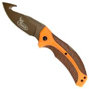 Buck Commander LoneRock 8Cr13MoV Steel Blade Hunting Knife