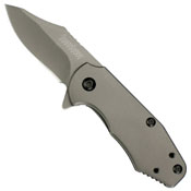Ember Titanium Carbo-Nitride Coated Blade & Handle Folding Knife