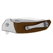 Kershaw Rayne 420HC Bolster and G-10 Handle Flipper Knife