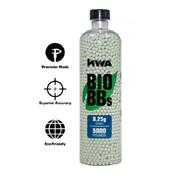 KWA Bio Airsoft BBs - 5000