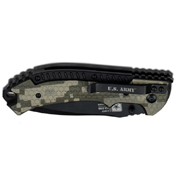 U.S. Army Spring Assisted 5 Inch Closed Folding Knife
