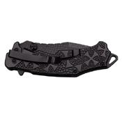 Dark Side Blades A031BK Ballistic Folding Knife - Black