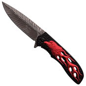Dark Side Blades 4.5 Inch Closed Folding Knife