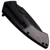 Dark Side Blades Grediant Dual Tone Handle Folding Knife