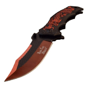 Dark Side Blades 3Cr13 Steel Plain Edge Folding Knife