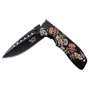 Dark Side Blades 3.75 Inch 3Cr13 Steel Blade Folding Knife
