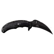 Dark Side Blades Dragon Art Aluminum Handle Folding Knife