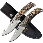 Elk Ridge Hunting Knife Set with Lanyard Hole
