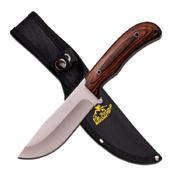 ELK Ridge ER-543 Satin Blade/Pakkawood Handle Fixed Knife