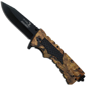 Elk Ridge Spring Assisted Ballistic Glass Breaker Knife
