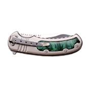 Elk Ridge Insert Handle Folding Knife w/ Pocket Clip