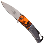 Elk Ridge Nylon Fiber Handle w/ Bulb LED Folding Knife