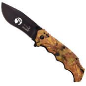 Elk Ridge Cut Wire Logo Folding Knife w/ Pocket Clip