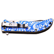 Femme Fatale 3 Inch 3 MM Thick Blade Stainless Steel Folding Knife