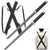 Heckler and Koch Stainless Steel Black Twin Samurai Sword