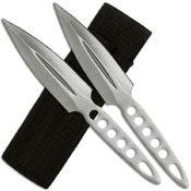 KS-6807-2 Two Piece 8.75 Inch Set Throwing Knife