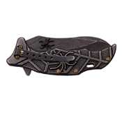 Masters Collection Sculptured Spider Folding Blade Knife