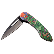 Masters Collection A051 Aluminum Handle Folding Knife