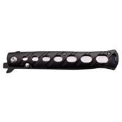 MTech USA 317 Tactical 5 Inch Closed Folding Knife - Black