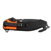 MTech USA 4.5 Inch Closed Half Serrated Folding Knife