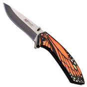 MTech USA A1005 Mirror Polished Blade Folding Knife