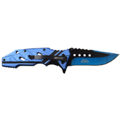 MTech USA 3.5 Inch Two Tone Blade Folding Knife