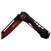MTech USA A1057 Electro-Plated Liners Folding Knife